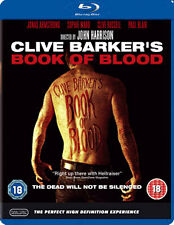CLIVE BARKER: BOOK OF BLOOD - BLU-RAY - REGION B UK