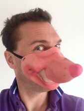 Funny Half Face Mouse Mask Latex Joke Fancy Dress Stag Party