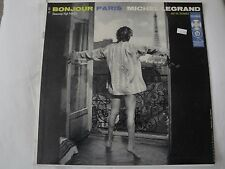 MICHEL LEGRAND BONJOUR PARIS VINYL LP FRENCH CAN-CAN, TWO LOVES HAVE I, LA MER