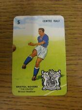 """1963 Pepys 'Goal' : Bristol Rovers - """"tarjeta de los Piratas Bristol estadio' tarjeta No.5"""