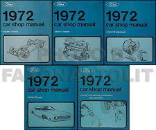 1972 Ranchero Gran Torino and Montego Shop Manual 72 Mercury Ford Repair