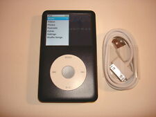 APPLE  IPOD  CLASSIC  7TH GEN.  CUStOM  BLACK  120GB...NEW HARD DRIVE...oz P. Ll