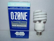 Ozone Lite Air Purifier Light Bulb NEW Eliminate Odor Smoke Kill Bacteria TIO2
