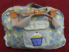 YUMMY MUMMY PINK LINING BUTTERFLY CUPCAKE BABY BAG