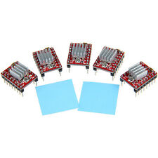 5pcs A4988 StepStick stepper driver+heatsink+sticker for Reprap Pololu 3D Print
