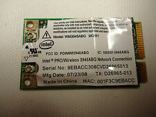 Intel WM3945ABG MOW1 D26965-013 PRO HP dv6000 Wireless 802.11 bgn Mini PCIE Card