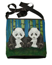 Panda Small Cross Body Bag - Support  Wildlife Conservation, Read How!