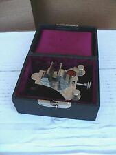 Vintage Precision Mineature Watch Maker / Jewelers Jewelry Vice in original case