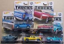 Complete 5 Car Set * Trucks Series Car Culture Case C * 2016 Hot Wheels
