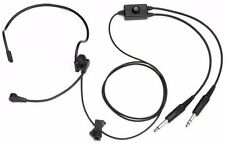 PilotUSA PA-2011A/L Aviation Pilot Lightweight Pro Headset Clarity Aloft Avcomm