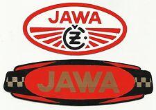 2 - VINTAGE - Jawa - Jawa CZ Motorcycle - Decals - Stickers - Speedway Original