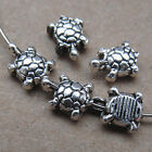 30pc Retro Tibetan Silver Tortoise Spacer Beads Accessories Findings B0130P