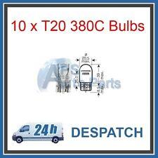 BOX OF 10 T20 D 12v 21/5w SIDELIGHT AUTOBULBS 380C BULB