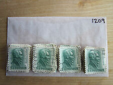 # 1209 x 100 Used US Stamps Lot  Andrew Jackson Issue  See our other lots