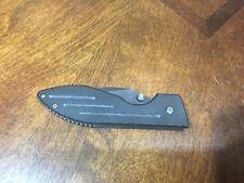 Kabar Ka-bar Pocket Knife Black Serrated CRT