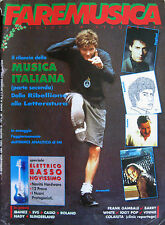 FAREMUSIC 117 1990 Jovanotti Battisti Ligabue Barry White Iggy Pop Frank Gambale