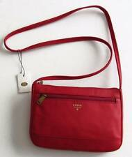 Fossil Real Red Gift Leather Mini Crossbody Bag ZB6682622 NWT