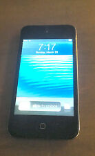 Apple iPod touch 4th generation Black (8GB) - Fully Working