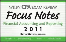 Wiley CPA Examination Review Focus Notes: Financial Accounting and Reporting 201