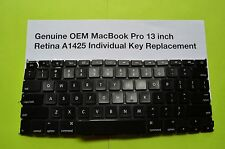 Genuine Apple MacBook Pro13 inch Retina Display A1425   Individual Key