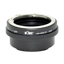 Kiwi Camera Mount Adapter - for Nikon G to Fuji X