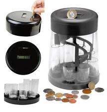 DIGITAL COIN COUNTER AUTOMATIC COIN SORTER COUNTS SORTS NOVELTY GIFT ROOM 41265c