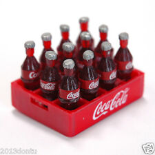COCA-COLA Coke Fridge Magnet Miniature 12 Bottles Case Dollhouse Collectibles