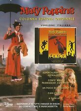 X7359 Mary Poppins - Colonna sonora - Pubblicità 1995 - Vintage advertising