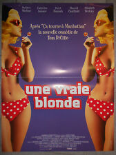 Affiche UNE VRAIE BLONDE The Real Blonde TOM DICILLO Catherine Keener 40x60cm