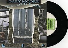 "GARY MOORE - TAKE A LITTLE TIME - 7"" 45 VINYL RECORD w PICT SLV - 1987"