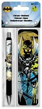 BATMAN - GEL PEN & BOOKMARK BRAND NEW - DC COMICS 3560