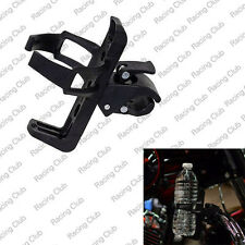 Motorcycle Handlebar Mounted Clamp On Cup Holder Beverage Water Bottle For BMW
