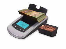 Note & Coin Counter PLUS VERSION.BAGGED COINS AND BANDED NOTES SOFTWARE INCLUDED