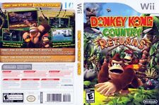 Donkey Kong Country Returns Nintendo Wii *play as Diddy Kong!* Super SNES Remake