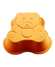 SiliconeZone Mini Teddy Bear Silicone Cake Baking Pan / Chocolate Mold