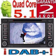 ANDROID 5.1 VW T5 MULTIVAN TOUAREG TRANSPORTER GPS RADIO DAB+ WIFI 3G DVR OBD SD