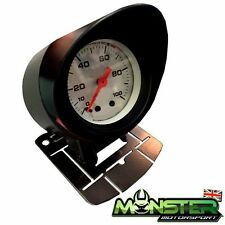 52mm Car Gauge Holder / Gauge Pod with Visor for Boost Gauge Etc