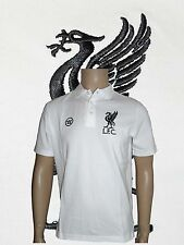 Liverpool 100% Cotton Polo White  Size Medium AWSTM217