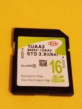 96554-1UAA2 Kia 2013 2014 KIa Sorento Navigation SD Map Card