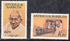 1984 ANTIGUA & BARBUDA MAHATMA GANDHI - Set of 2 stamps (Scott no 821+824)