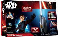 Star Wars Science - Multicolor Lightsaber Room Light - Jedi Lamp Hangs on Wall!