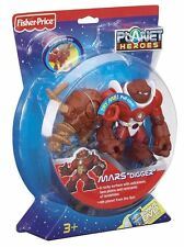 "FISHER PRICE PLANET HEROES MARS ""DIGGER"" W/ SPINNING DRILL *NEW*"