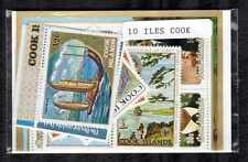 Iles Cook - Cook Islands 10 timbres différents