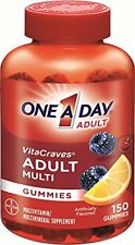 One A Day Vitacraves Regular Gummies, 150 Each