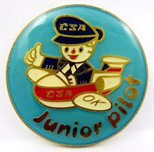 CSA Czechoslovak Airlines Junior  Pilot Pin Badge 1970s Rare