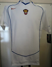 RUSSIA 2004/06 WHITE S/S AWAY FOOTBALL SHIRT BY NIKE ADULTS SIZE MEDIUM BNWT