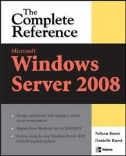 Microsoft Windows Server 2008: The Complete Reference (Complete Refere-ExLibrary