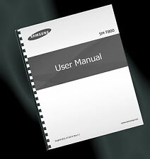 ~ PRINTED ~ Samsung Galaxy Tab S 10.5 (SM-T800) User Guide, Instruction Manual