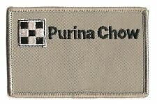 Purina Chow animal feed advertising patch 2-1/2 X 3-7/8 gray