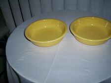 One FiestaWare Homer Laughlin-Cereal/Soup/Salad Bowl Sunflower Yellow - Mint